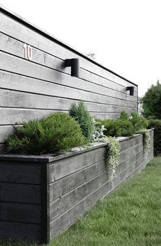 Sichtschutz zum Nachbarn oder zur Straße   Blumenboxen   Garten   DIY