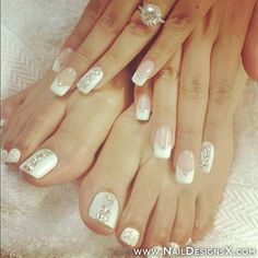 my new nail toe art .. do you like them - Nail Designs & Nail Art