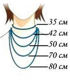 kind of beads do you need! - What kind of beads do you need! – Fair Masters – handmade, handmade -What kind of beads do you need! - What kind of beads . Necklace Sizes, Diy Necklace, Necklace Lengths, Garnet Necklace, Jewelry Crafts, Handmade Jewelry, Jewelry Ideas, Handmade Accessories, Personalised Jewellery