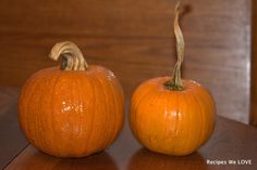 Recipes We Love: Cooking Fresh Pumpkins in a Slow Cooker