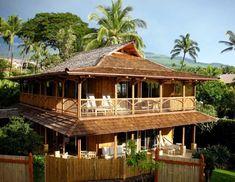 Balinese Bamboo Home Exterior