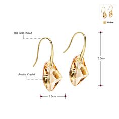 Austrian Crystal Women Drop Earrings Jewelry New Butterfly Designer Trendy Fashion Birthday JS6 But-g JS9 Just look, that`s outstanding! www.lolfashion.ne... #Jewelry #shop #beauty #Woman's fashion #Products