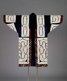 per prior pinner: Robe - Ainu, 19th century, Japan
