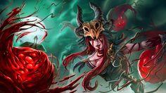 Blood Cabalist Syndra (byTheClintHennesy)