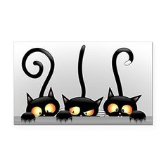 Buy Black Cats Cartoon with White Panel by Bluedarkat on GraphicRiver. Three Black Cats Cartoon with funny faces behind a white Panel Background. Including Vector Layered files: – a file E. Cat Attack, Cat Background, Image Chat, Cat Quilt, Cat Drawing, Drawing Animals, Halloween Cat, Halloween Clipart, Crazy Cats