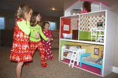 Let Kids Create: American Girl Dollhouse {Ikea hack}