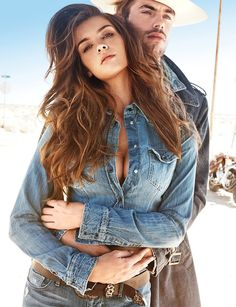 Jacey Elthalion for Guess Jeans FW 2013 – More Images Guess Jeans, Love Jeans, Couple Style, Vogue Photography, Couple Photography Poses, Couple Posing, Couple Shoot, Modelos Guess, Jacey Elthalion
