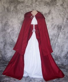 Little Red Riding Hood Erwachsenen Kostüm  von SpeedyCostumes, $195.00