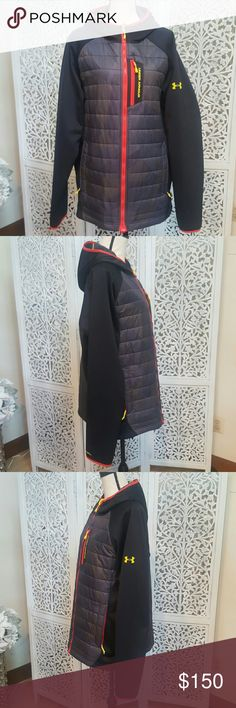 Under Armour Coldgear Infrared Jacket Men's Under Armour Coldgear Infrared Jacket in an extremely rare color pattern.  Like new condition,  worn less than a handful of times. Under Armour Jackets & Coats