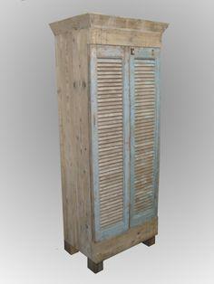 steigerhout met oude deuren
