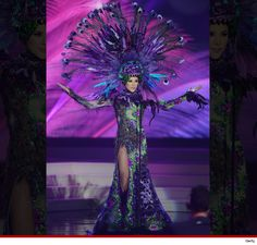 Miss Mexico's national costume in the #MissUniverse pageant is INSANE!