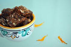 Cooking with ZTD: Dark Chocolate Almond Caramels