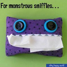 Make Monster Tissue Holders