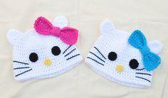 $20. Hello Kitties from Suzy's Craft Shoppe on ETSY