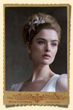 Noiva & Arte: Os mais lindos acessórios de cabelos para noivas, feitos à mão.