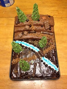 another mountain cake
