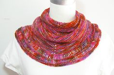 A simple shawl to help keep the shoulders warm on those cooler summer nights. It is named after a lovely holiday spot on Queensland's Sunshine Coast as the colours remind me of a holiday sunset.