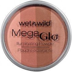 Wet n Wild MegaGlo Illuminating Powder, 346 Strike-A-Pose-Rose, oz Make Up Time, How To Make, Too Faced Highlighter, Vegan Beauty, Wet N Wild, Strike A Pose, Bronzer, Beauty Hacks, Beauty Tips