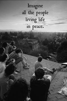 imagine - john lennon Imagine John Lennon, The Beatles, Music Videos, Lyrics, Peace, Movie Posters, Movies, Life, Films