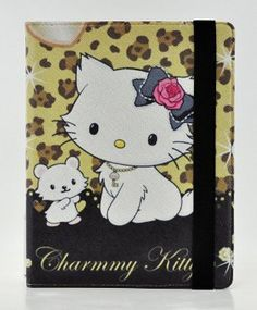 Amazon.com: Hello Kitty Design 360 Degree Rotating PU Leather Hard Case for Apple iPad 4 3 2, Mini 2 with Retina and iPad Air (iPad Mini, Charmmy): Computers & Accessories