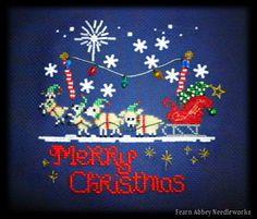 Lamby Christmas Pattern