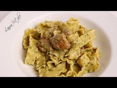 Pasta With Sausage in a Creamy Pesto Sauce Recipe  Laura in the Kitchen