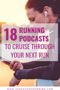 18 running podcasts to cruise through your next run   Skip the music and sign yourself up for hundreds of hours of audio with these entertaining, inspirational and motivational podcasts by runners about runners for runners #podcasts #runningpodcasts #running Running Humor, Running Quotes, Running Motivation, Jogging Quotes, Track Quotes, Breathing Tips For Running, Running Tips, Race Training, Training Plan