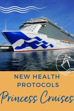 A look at all the new health protocols that Princess Cruises will put in place once cruising resumes gives us a first glimpse into how cruising will change going forward. #cruise #cruisenews #PrincessCruises #cruiseplanning #eatsleepcruise