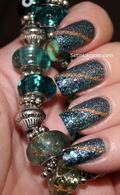 Set in Lacquer #nail #nails #nailart