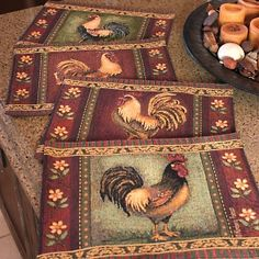 Painted Cork Placemats