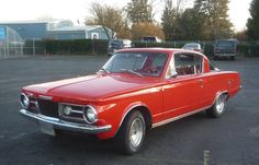 1966 Barracuda - one of the teachers at my high school had this car and I thought it was really cool, at the time.