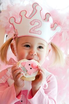 """Photo 38 of 47: 2nd Birthday Party / Birthday """"Piper's Pink Piggie Princess Party"""" 