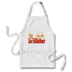 The Grill father Barbecue Apron Father's Day gift
