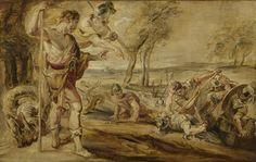 Cadmus sowing dragon's teeth | Peter Paul Rubens | 1610 - 1690 | Rijksmuseum | Public Domain Marked