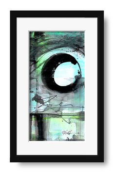 The Enso Of Zen No mm7 Original by KathyMortonStanion