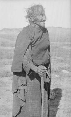 Susan Iron Teeth, Северные Шайены. Thomas Marquis Native American Nitrate Negative