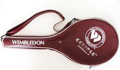Vintage Wimbledon Tennis Racquet Racket Case Only Eclipse 1998 Cover Bag #Wimbledon
