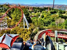 Six Flags Magic Mountain!!