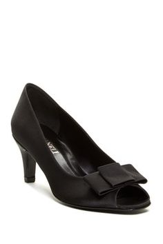 VANELi Di Notte Mairi Satin Pump - Multiple Widths Available