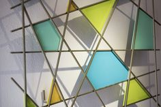 Triangulation by Karo Martirosyan (Art Glass Wall Sculpture) | Artful Home