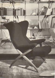 arflexmuseum - FIORENZA ARMCHAIR DESIGN FRANCO ALBINI 1952. #arflex #arflexmuseum #francoalbini #fiorenza