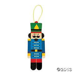 Nutcracker Craft Stick Ornament Craft Kit