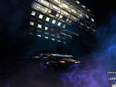 Docked Starship - Star Trek Online #STO #Starships VistaLore daily pics of beauty & imagination GameScapes screenshots gaming games Images pictures Sci-Fi Science Fiction