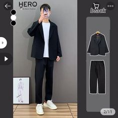 Teen Fashion Outfits, Mix Match, Mens Suits, Normcore, Style, Outfits, Dress Suits For Men, Swag