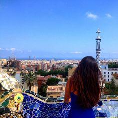 Barcelona Parque Guell Travel Blog