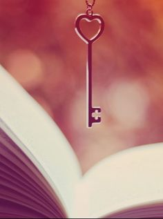 Book and a key.