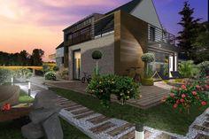 Projekty domów ABCentrum-DOM / Projekt DZP-6-A1