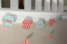 Love Sweet Love Banner on Etsy, $14.00
