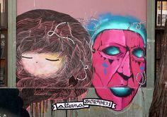 street art santiago de chile barrio yungay arte callejero alterna