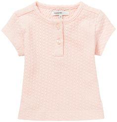 Majica s kratkimi rokavi za dojenčke NOPPIES - svetlo roza Baby Girl Fashion, Kids Fashion, Kind Mode, V Neck, Mens Tops, Baby Style, Women, Super, Girls